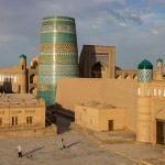 Kalta-minor Minaret, Khiva, Uzbekistan