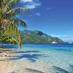 Mo'orea is a South Pacific island, part of French Polynesia's Society Islands archipelago. It's known for its jagged volcanic mountains and sandy beaches.