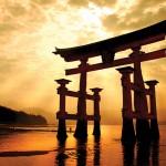 "Itsukushima Shrine is a Shinto shrine on the island of Itsukushima, best known for its ""floating"" torii gate"