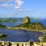 Rio de Janeiro, a huge seaside city in Brazil