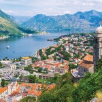Kotor is a fortified town on Montenegro's Adriatic coast