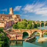 Albi, France, the birth place of artist Henri de Toulouse-Lautrec