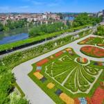 Gardens of Musée Toulouse-Lautrec