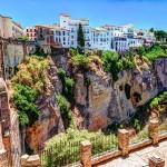 Ronda is a mountaintop city in Spain's Malaga province