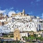 "Ostuni is commonly referred to as ""the White Town"" (La Città Bianca in Italian) for its white walls and its typically white-painted architecture."