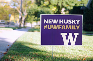 #UWFAMILY yard sign
