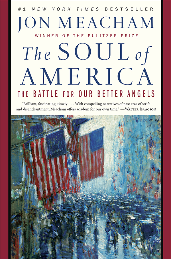 "Book Cover: ""The Soul of America"""