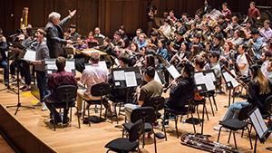 Salzman and the Wind Ensemble