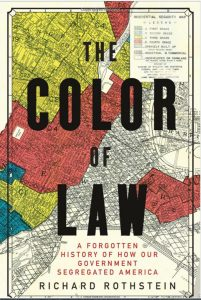 "Book cover: ""The Color of Law"""