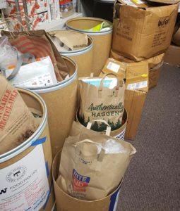 Husky Pantry donations