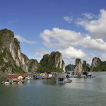 Floating fishermen village, Halong Bay