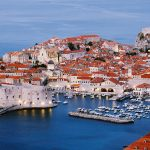 Dubrovnik, a city in southern Croatia, on the Adriatic Sea