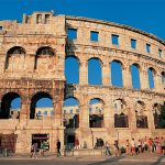 Pula Arena is an amphitheatre located in Pula, Croatia.