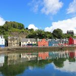 Tobermory Port Houses, Scotland