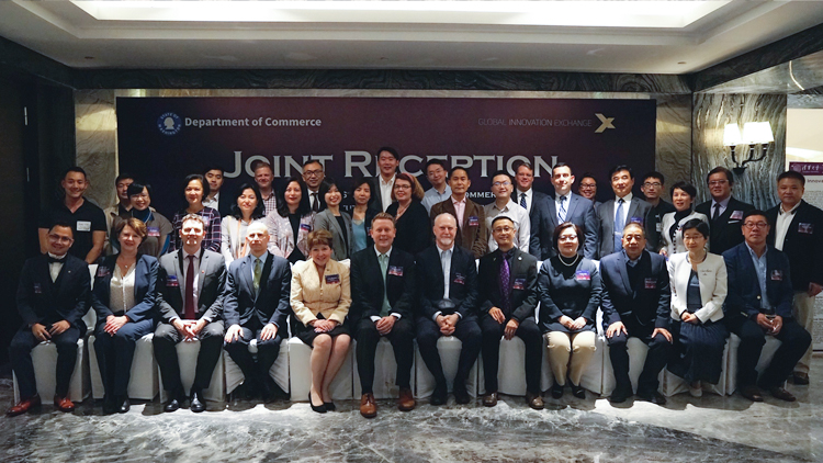 Washington state trade delegation in China