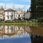 Mateus Palace in the Vila Real District, northern Portugal.