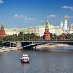 The Moscow Kremlin, or simply the Kremlin, is a fortified complex in the center of Moscow, overlooking the Moskva River.