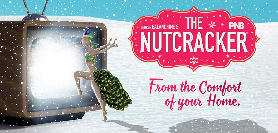 PNB Nutcracker logo and illustration