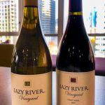 Two bottles of Lazy River Vineyard wines