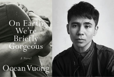 Book Cover of On Earth We're Briefly Gorgeous and author Ocean Vuong