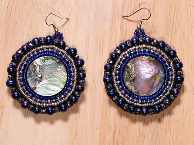 Earrings by MaryJane Ides