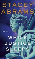 """""""While Justice Sleeps"""" book cover"""
