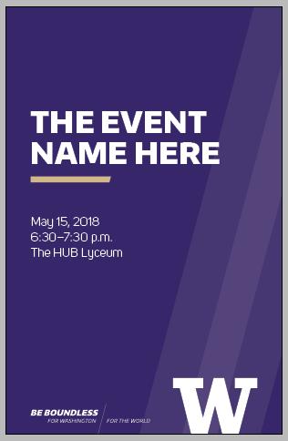Panel Card Invitation Uw Brand