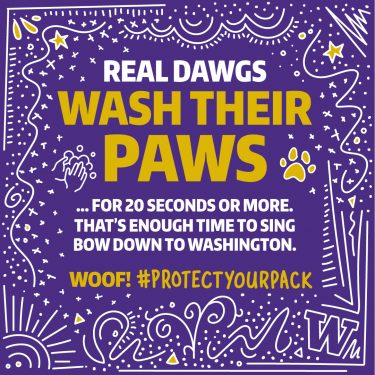Real Dawgs wash their paws. - 1080x1080