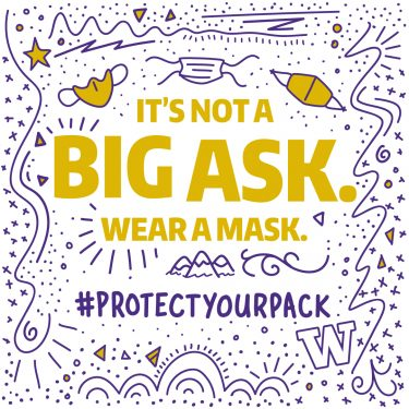 It's not a big ask. Wear a mask. 1080x1080