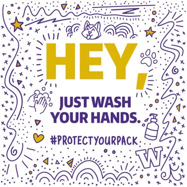 Hey, just wash your hands - 1080x1080