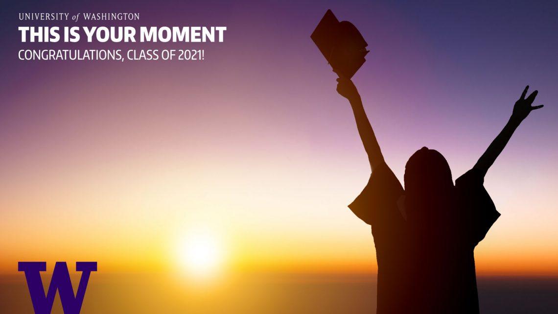 UW Graduation Zoom background