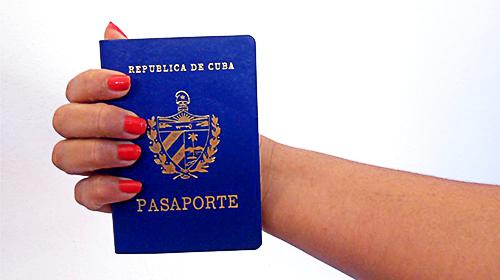 Pasaporte primera vez
