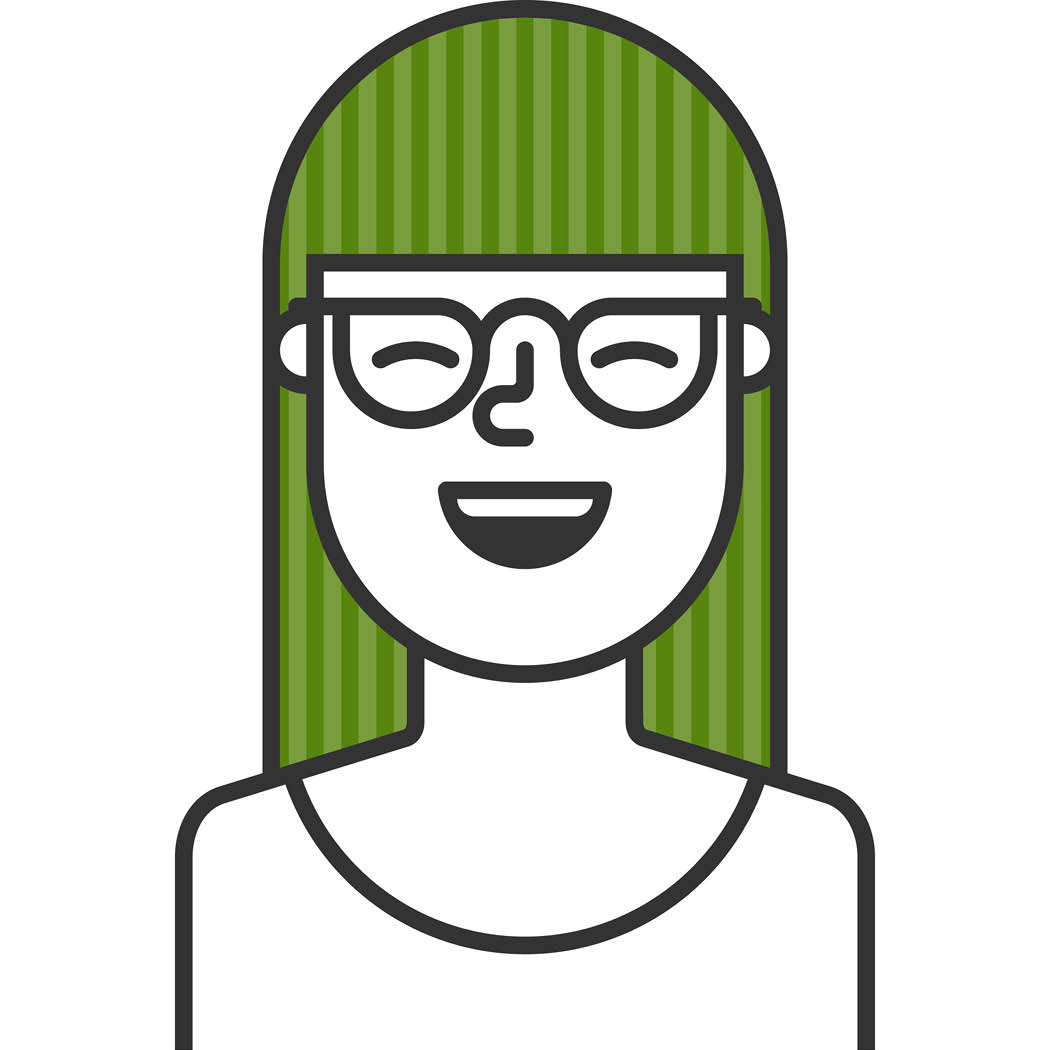Dispensary Store Manager cartoon headshot
