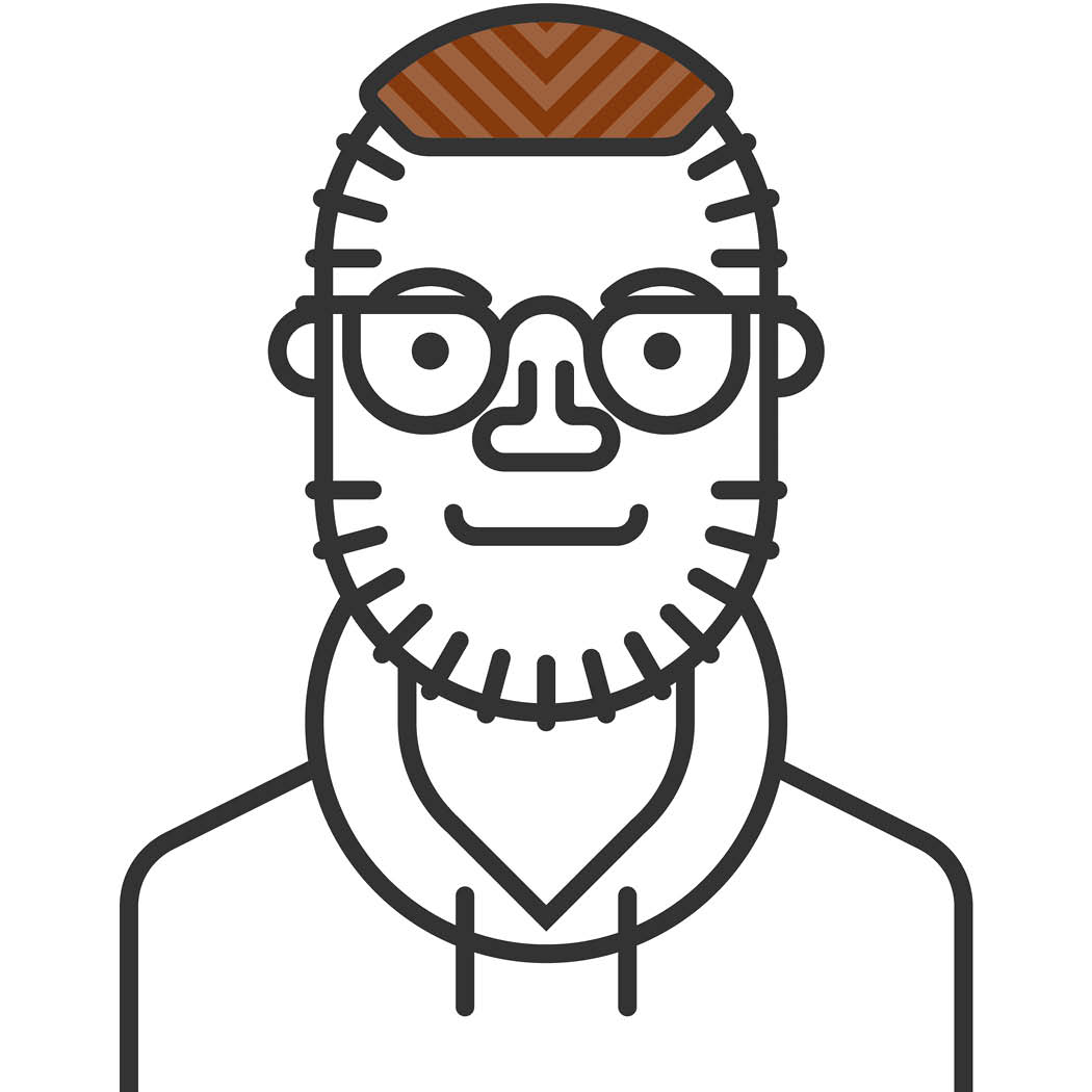 Trimmer cartoon headshot