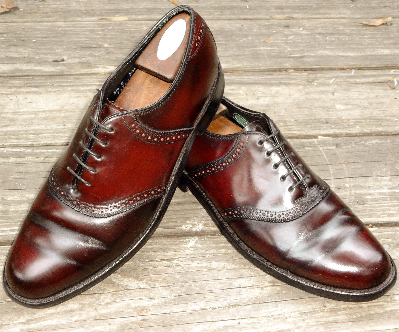 Florsheim Royal Imperial Saddle Shell Cordovan