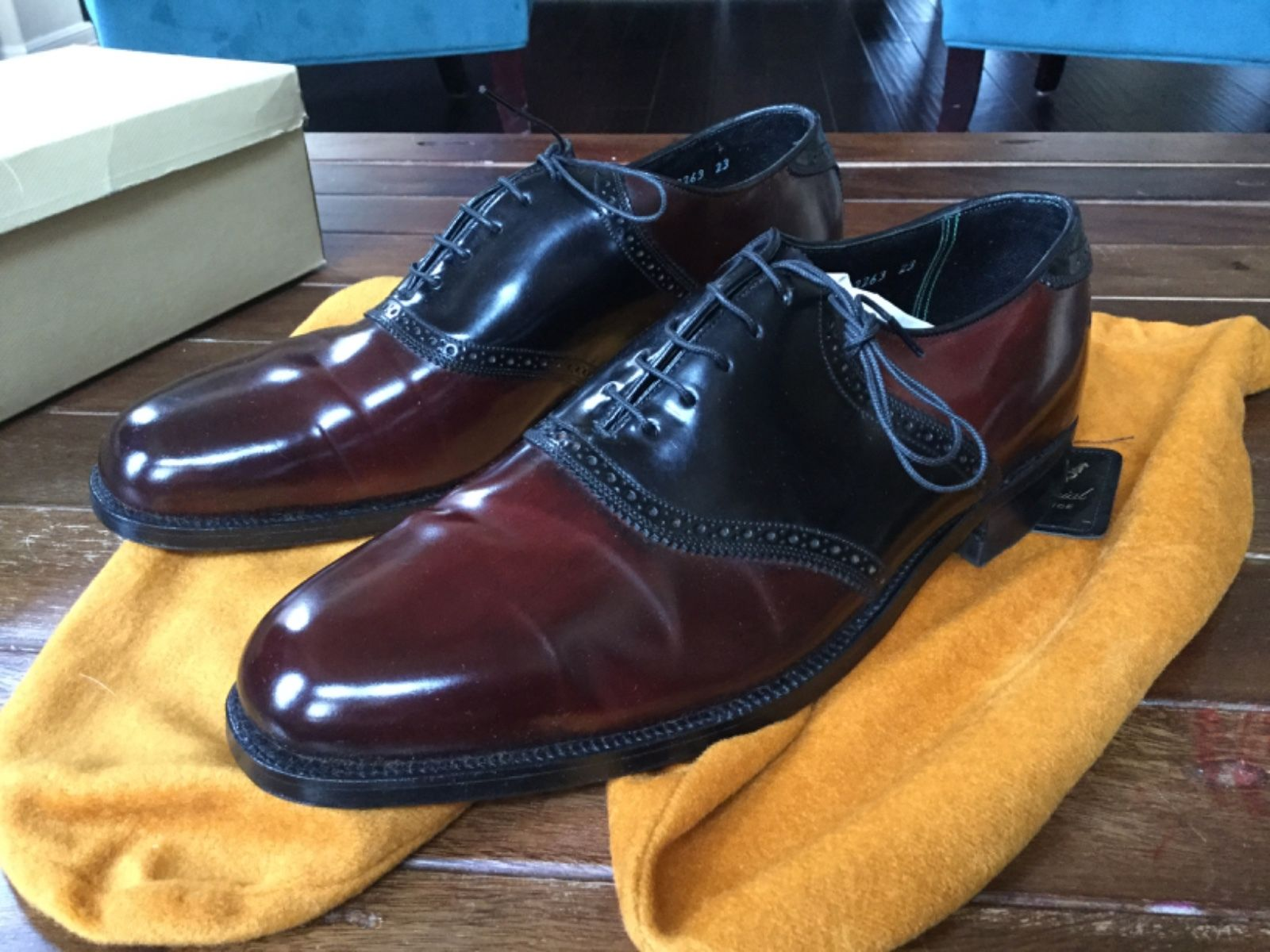 Florsheim Saddle Shell Cordovan
