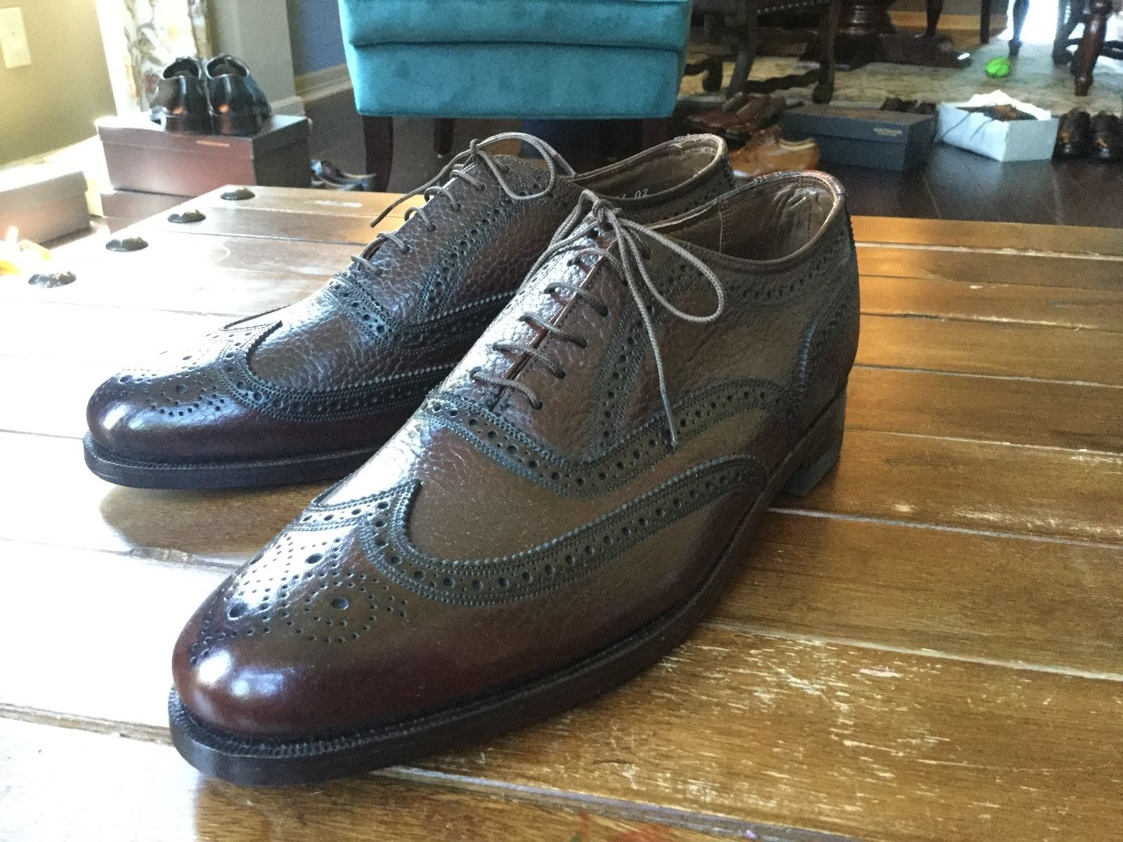 Florsheim wing tips