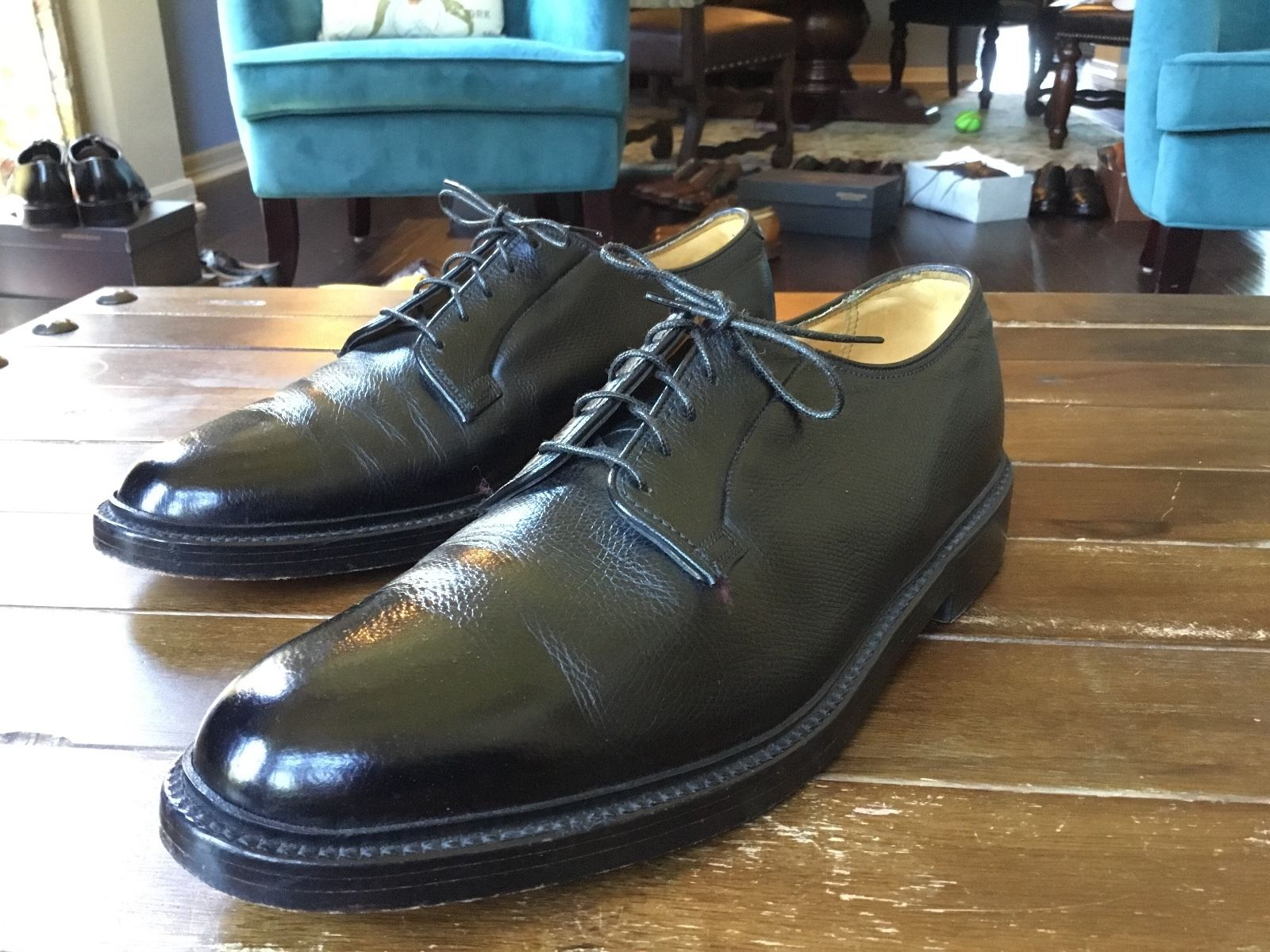 Florsheim Imperial plain toe Bluchers
