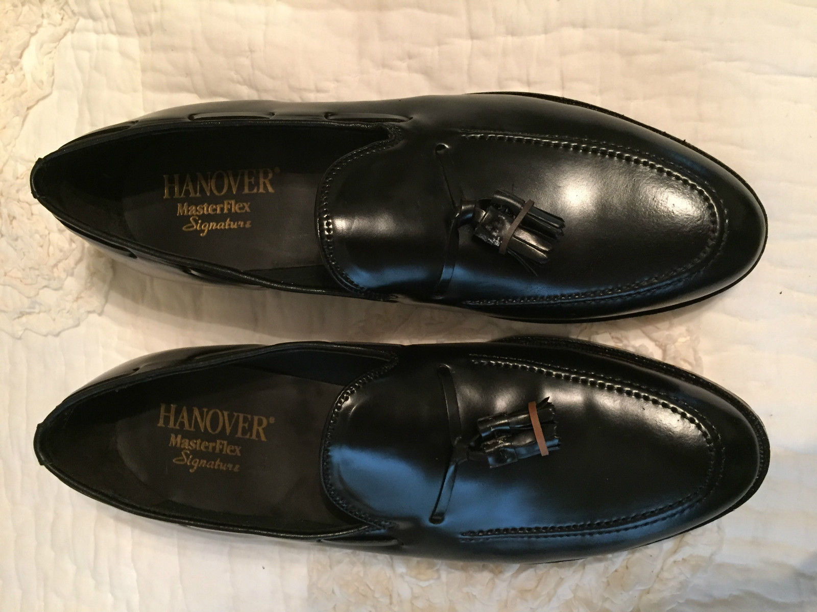 Hanover 3505 Tassel Loafer Black