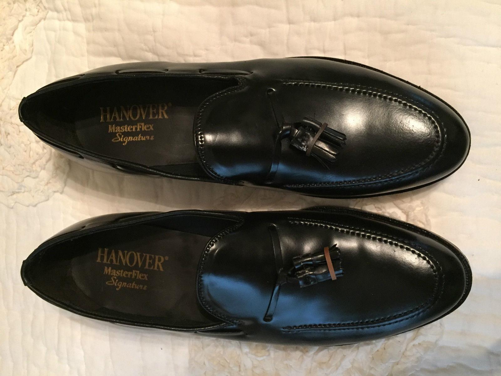 Hanover 3505 Tassel Loafer Black