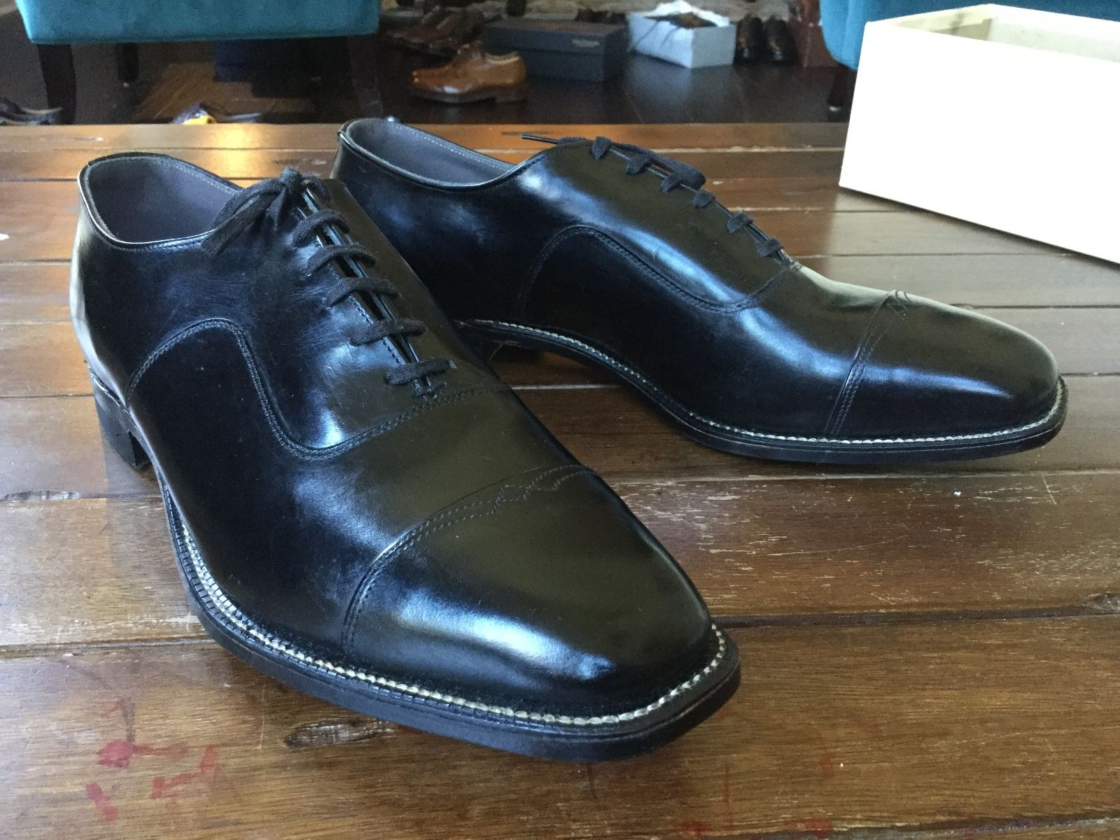 Johnsonian Guide Step Cap Toe