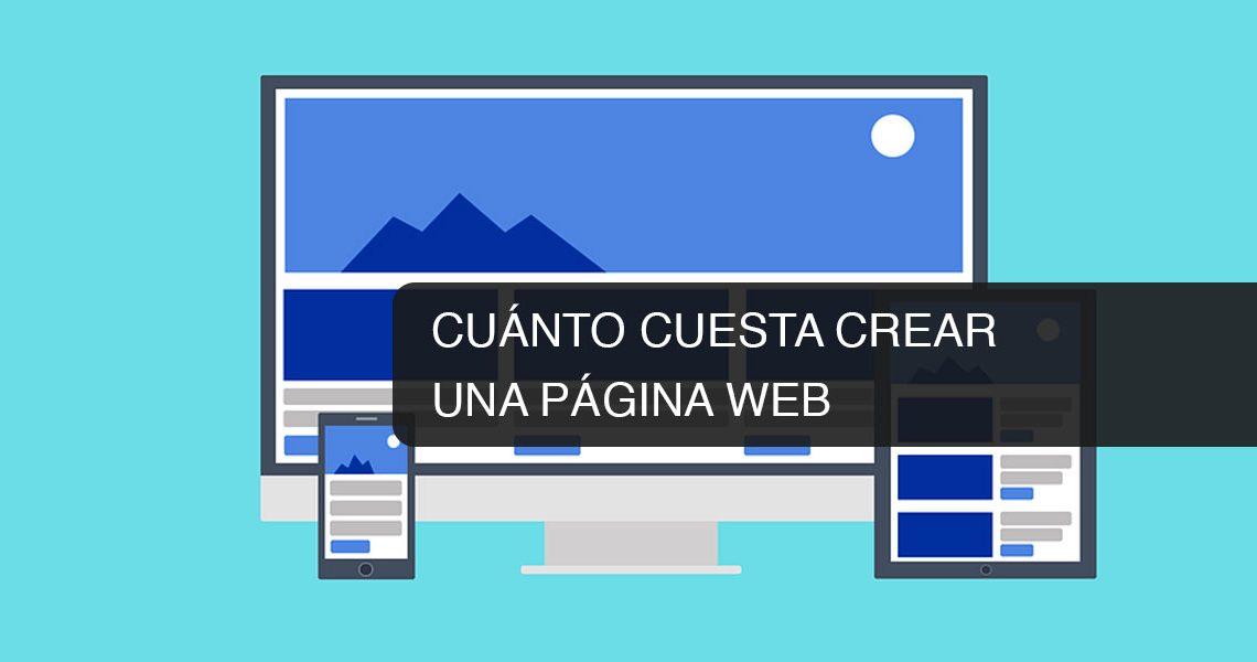 Cu nto cuesta crear una p gina web for Cuanto cuesta un espejo