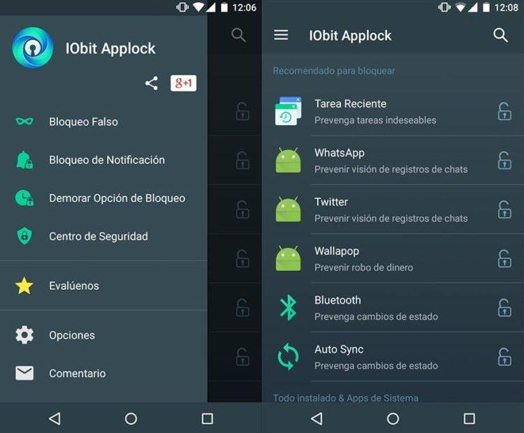 IObit Applock: Excelente aplicación de protección para tu dispositivo Android