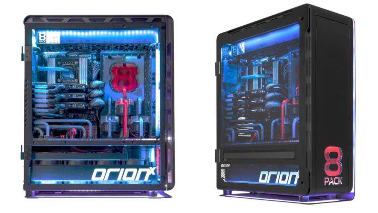 8Pack OrionX: Dos ordenadores en uno, y 28 mil razones para quererlos