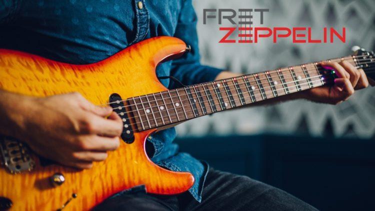 Fret Zepplin: Como tocar la guitarra de forma fácil