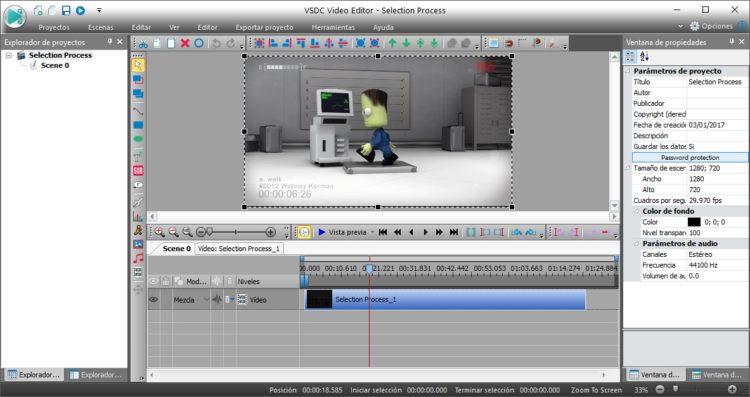VSDC Free Video Editor: Editor de vídeo profesional y gratuito