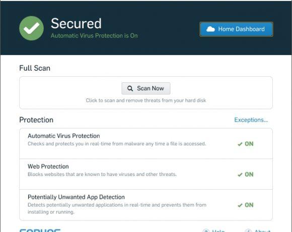 Sophos Home: Antivirus gratuito con administración online
