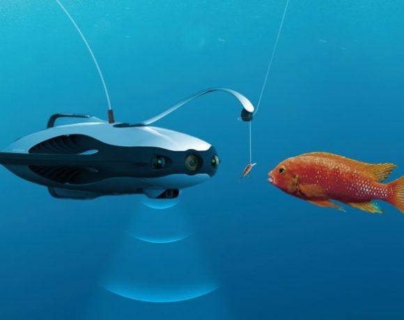 PowerRay: Un dron acuático con cámara para pescadores