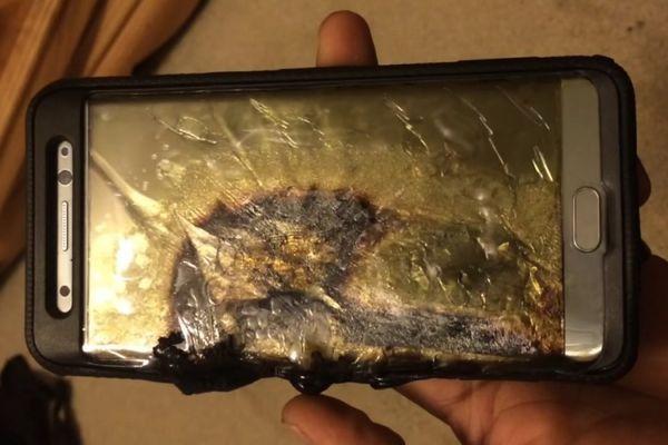 Samsung confirmó por qué explotan los Galaxy Note 7