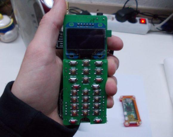 ZeroPhone: Un smartphone DIY basado en el Raspberry Pi Zero